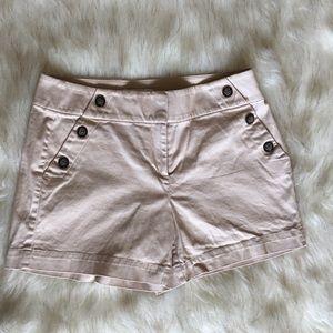 NWOT WHBM High Waist Sailor Shorts
